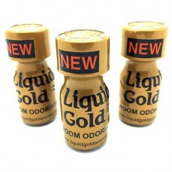 Liquid Gold Poppers x 3 - from UK Poppers online