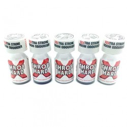 Throb Hard Poppers x 5 - UK poppers online